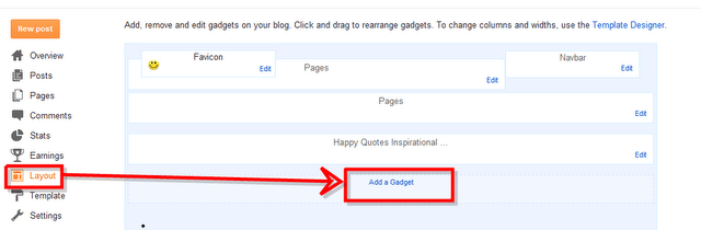 featured post sidebar blog widget