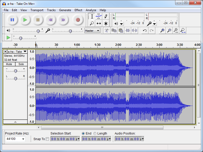 Mix music tutorial with audacity