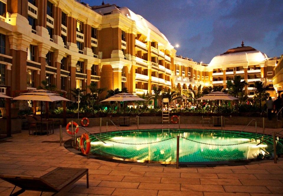 ITC grand chola swimming pool