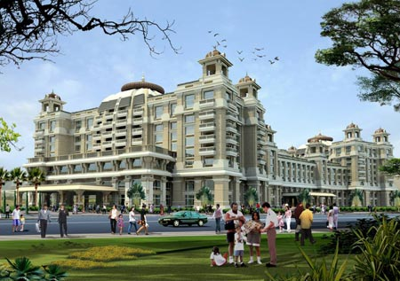 itc grand chola chennai