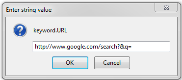 change default search engine in firefox browser