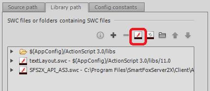 add smartfoxserver actionscript 3 client api to flash professional