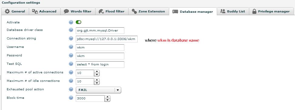 connect smartfoxserver 2x with external mysql database