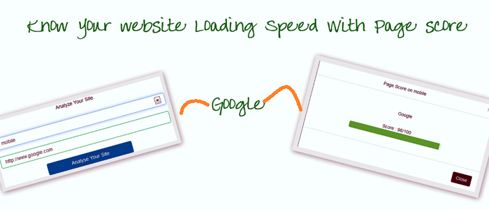 Know Your Website Loading Speed On Desktop / Mobile Using Google Page Speed API