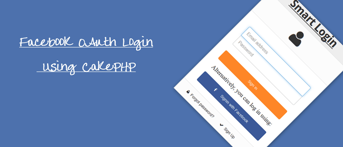 Facebook OAuth Login Using CakePHP