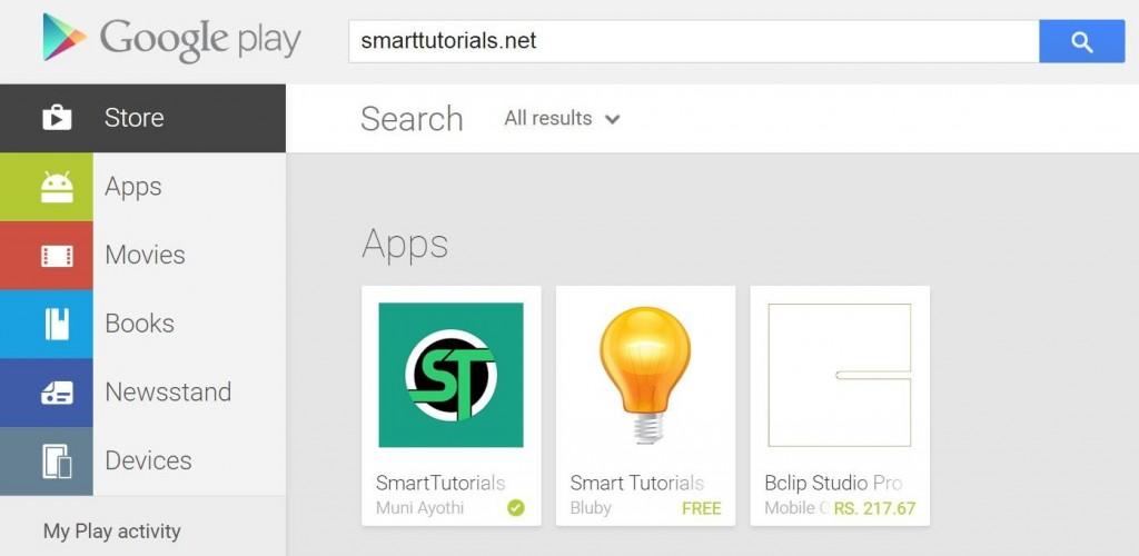 SmartTutorials_Playstore_link