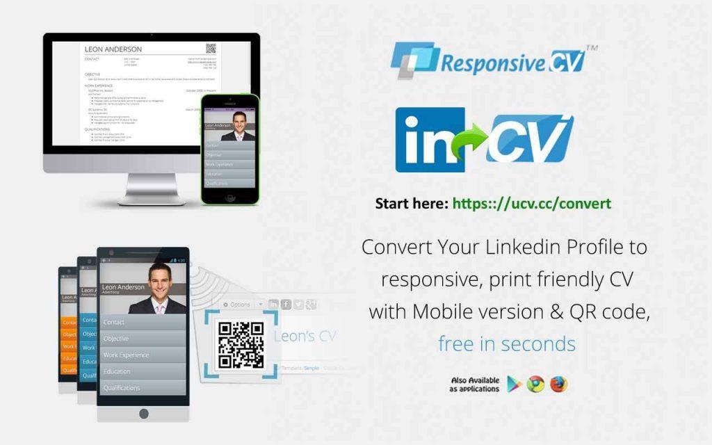 Convert-linkedin-profile-to-resume-cv