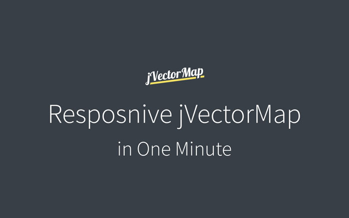 How to create responsive jVector World Map using jQuery