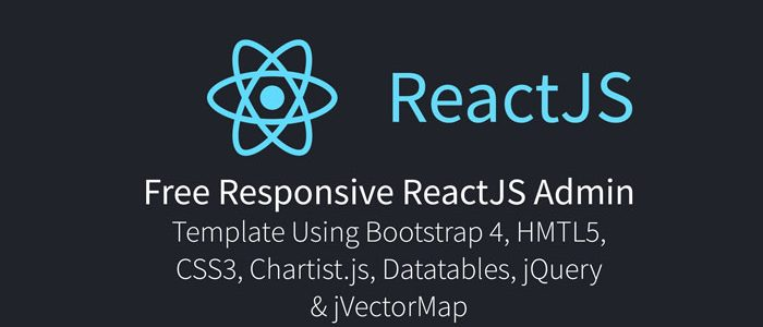 Free Responsive ReactJS Admin Template Using Bootstrap 5, HTML5, CSS3, Datatables, jQuery & jVectorMap